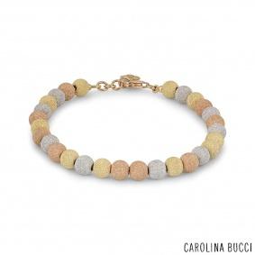 Carolina Bucci Tri-Colour Gold Florentine Bracelet